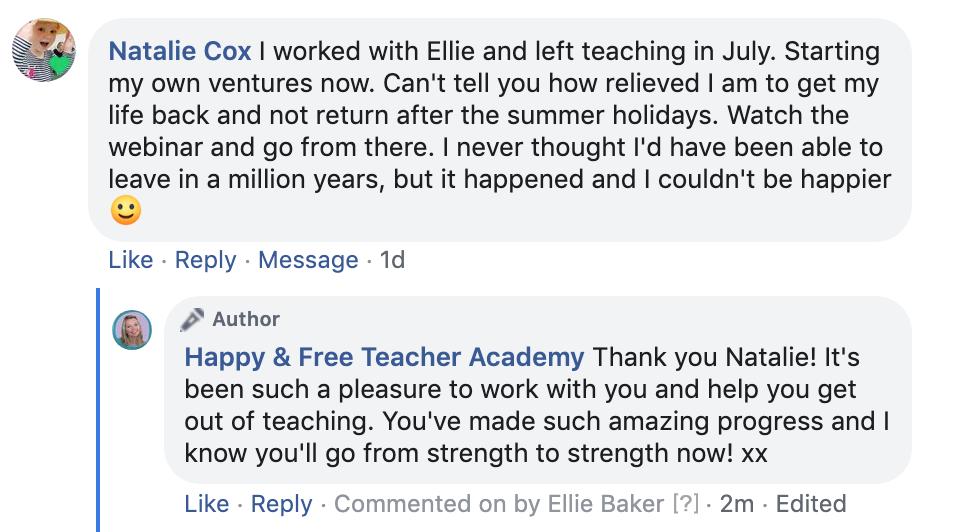 Review Ellie Baker Coach